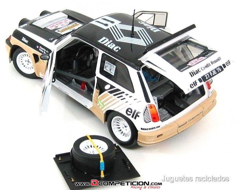 Foto2 1/18 Renault 5 Maxi turbo Chatriot SOLIDO