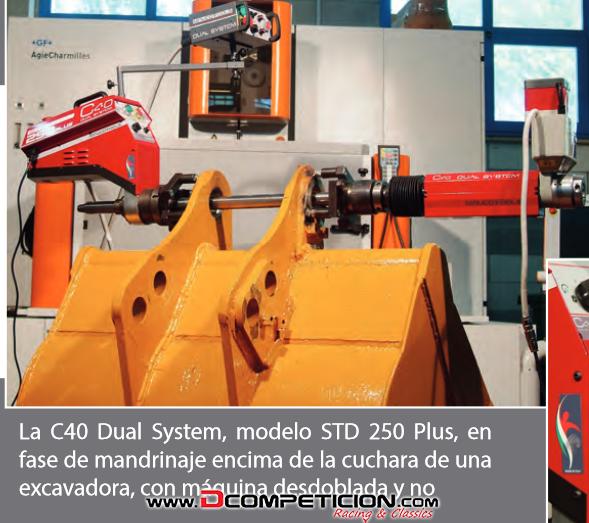 Foto2 Alesadora/Mandrinadora C40 Dual System, modelo STD 250 Plus