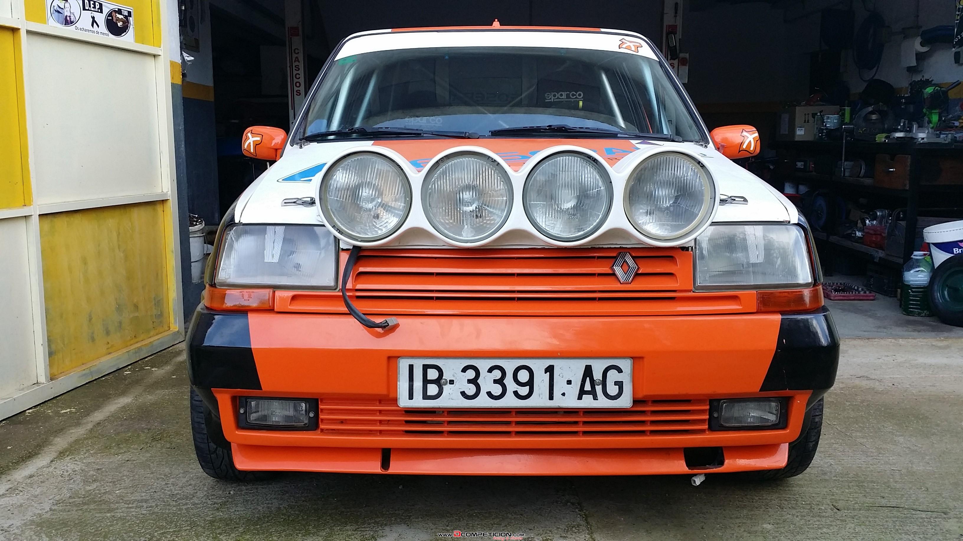 Foto5 Vendo renault 5 gt turbo rallyes