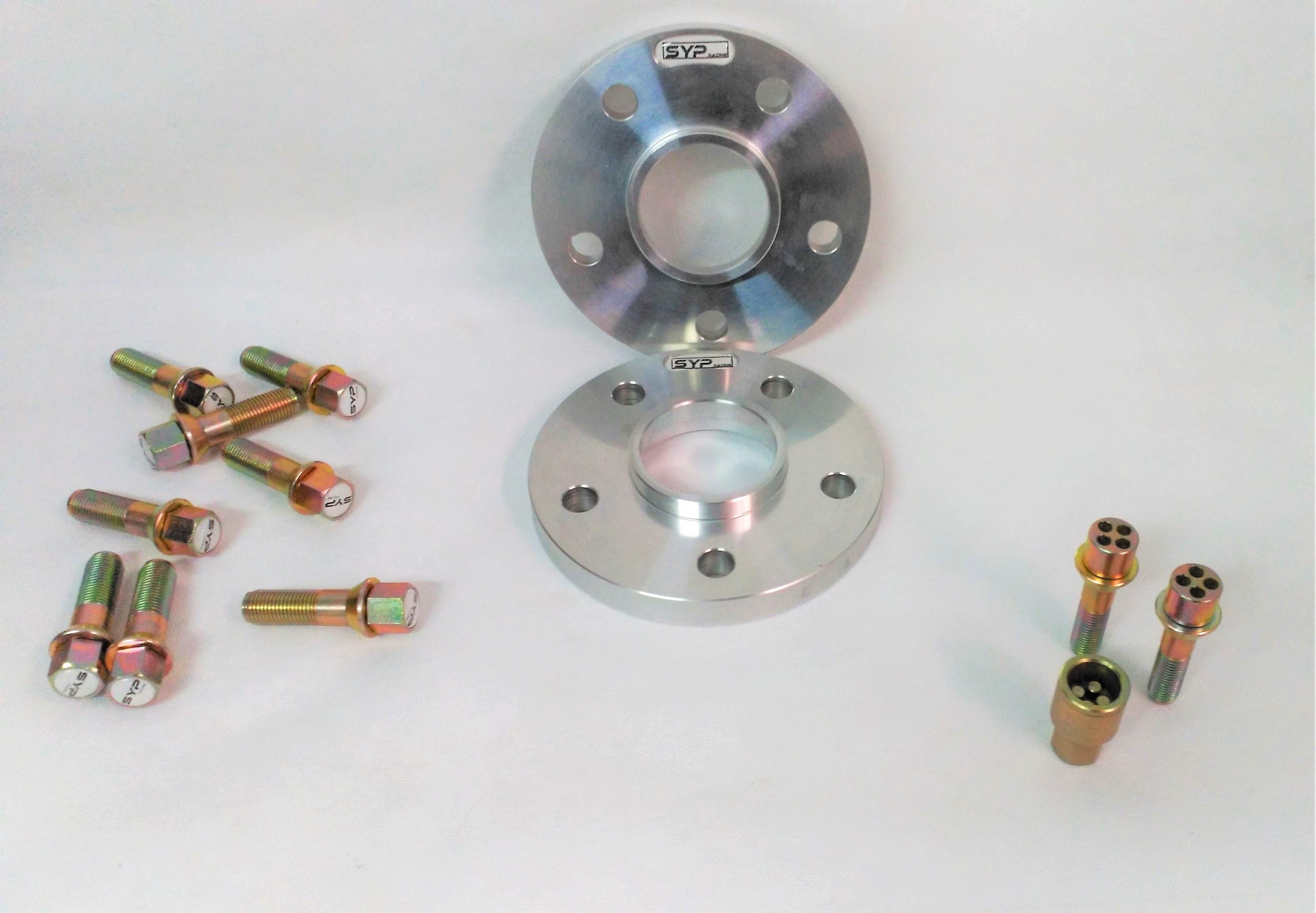 Foto2 Separadores de ruedas Volkswagen Sypracing 16mm, 21mm, 25mm y 30mm
