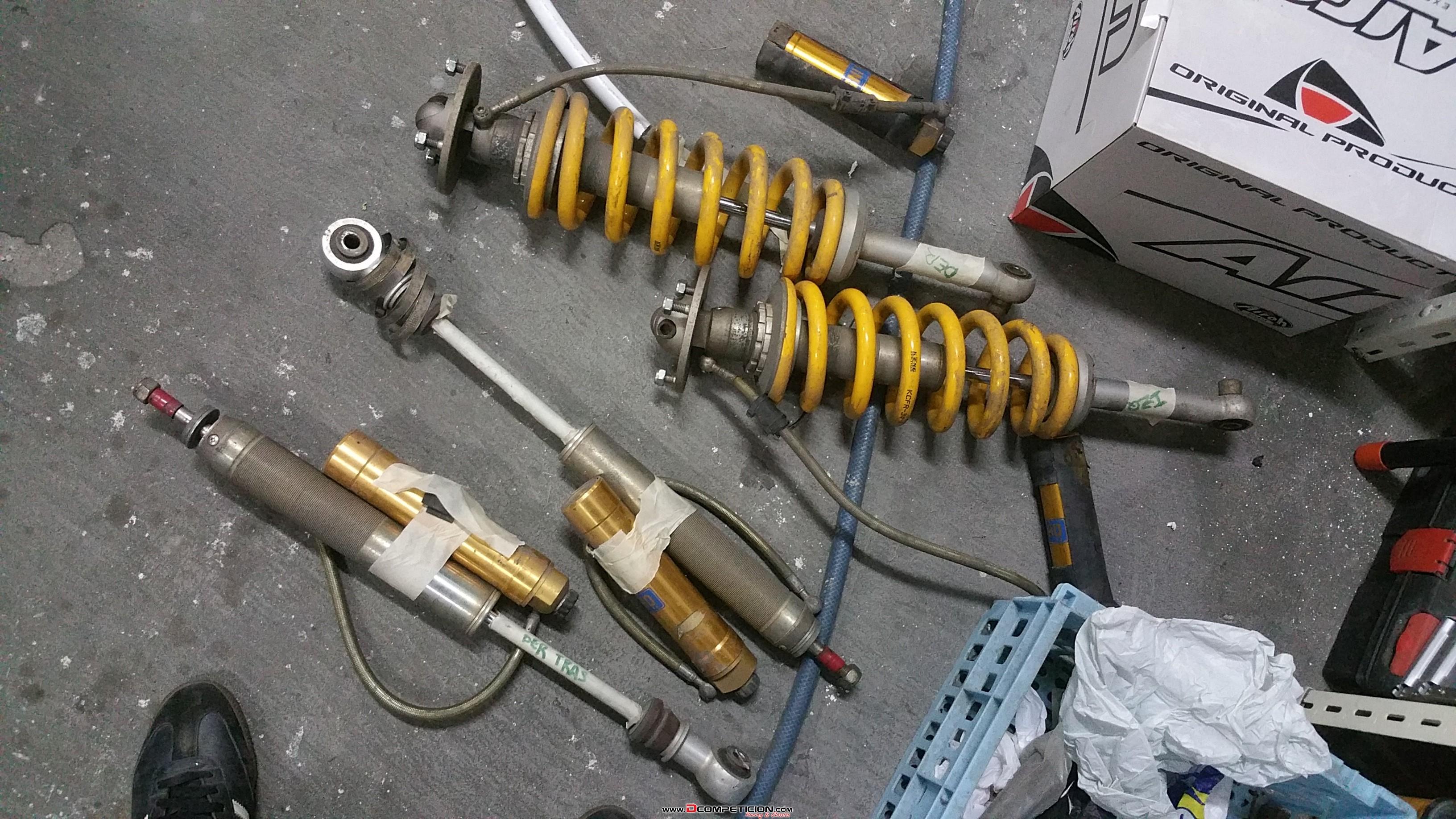 Foto1 Suspensiones ohlins para 4x4 mitsubishi montero del 2000 hasta 2017