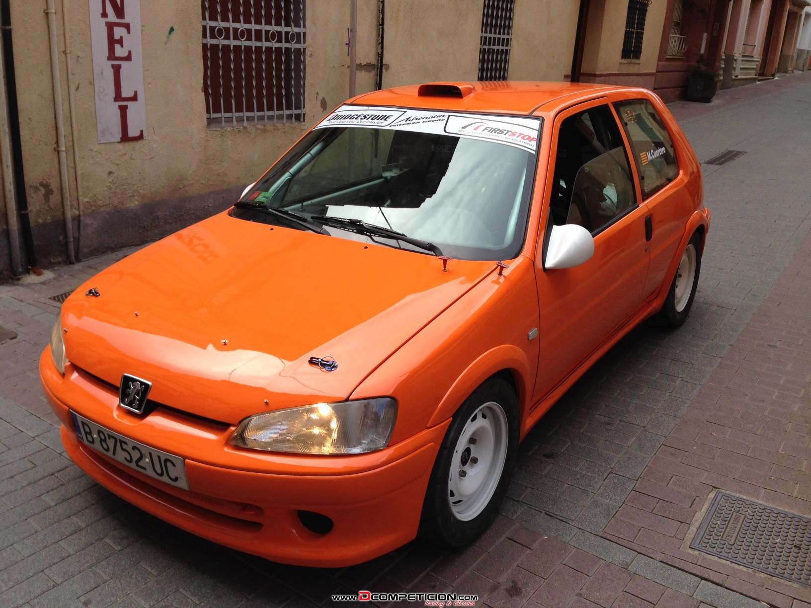 Foto2 Vendo 106 rallye Gr.N Homologacion antigua