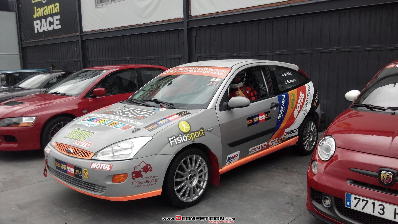 Foto1 FORD FOCUS 1.6 GASOLINA 100CV RALLY