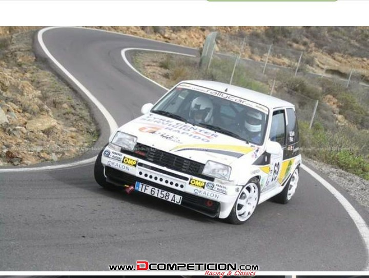 Foto2 Vendo R5 GT TURBO con ficha de rally.
