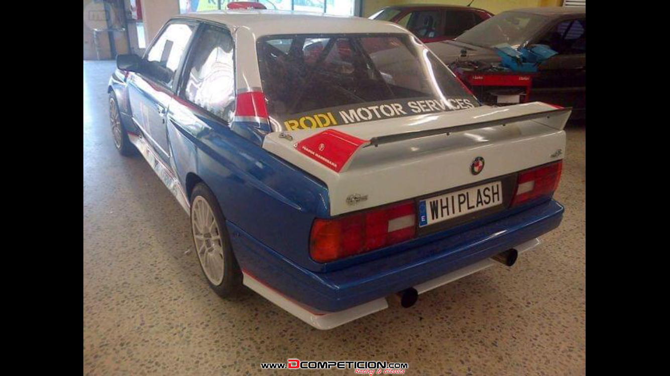 Foto3 BMW E30 competicion 400hp