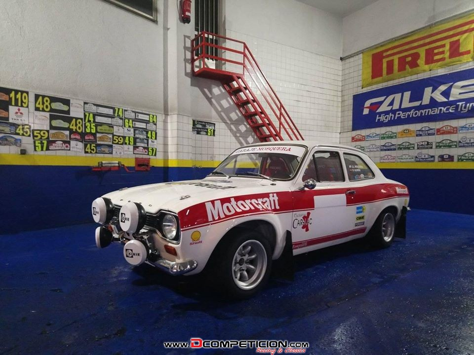 Foto1 FORD ESCORT MK1 RS2000 -MIXTO-IMPECABLE