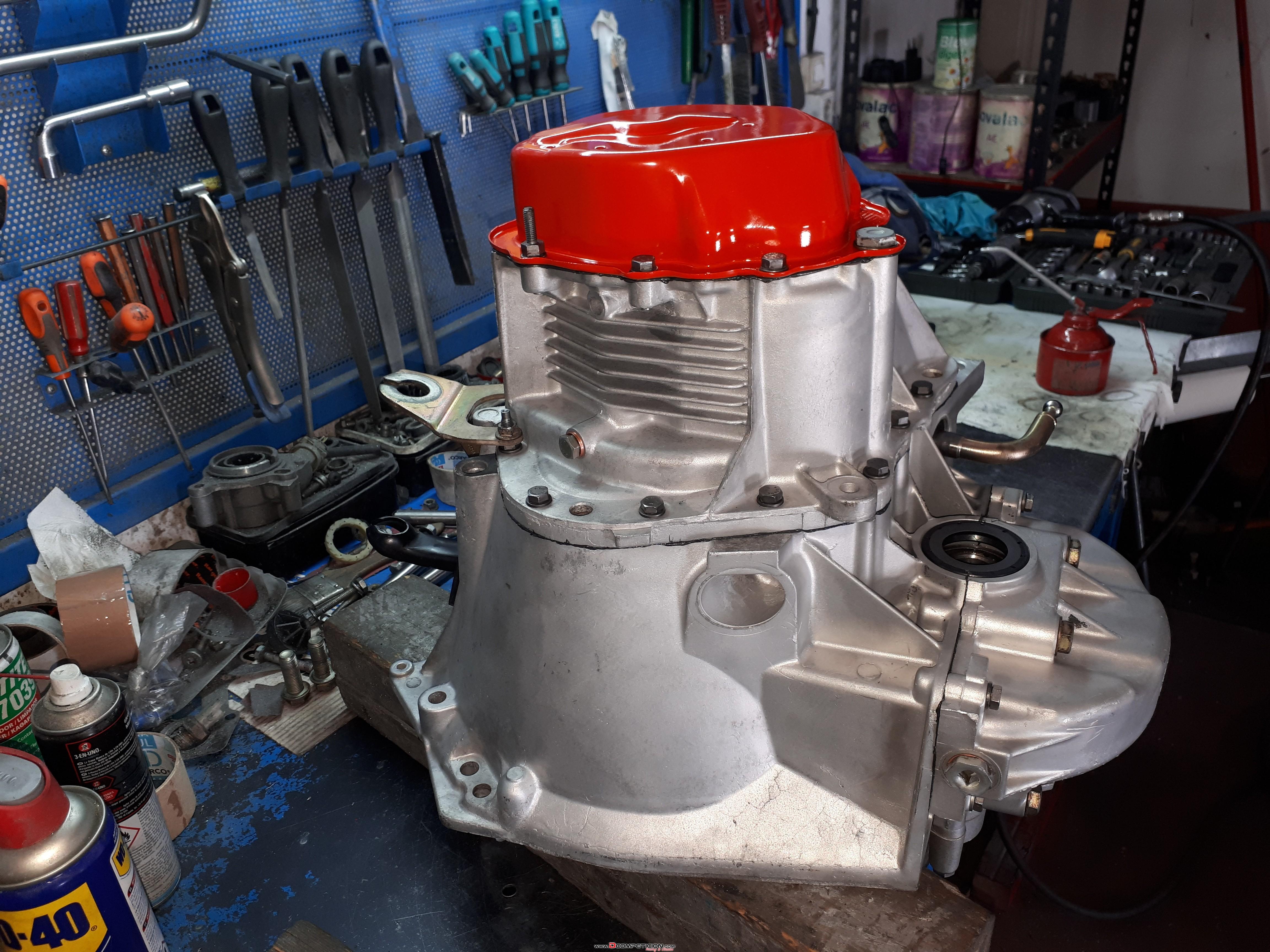 Foto2 Caja BE4R para motor TU con 12x68........