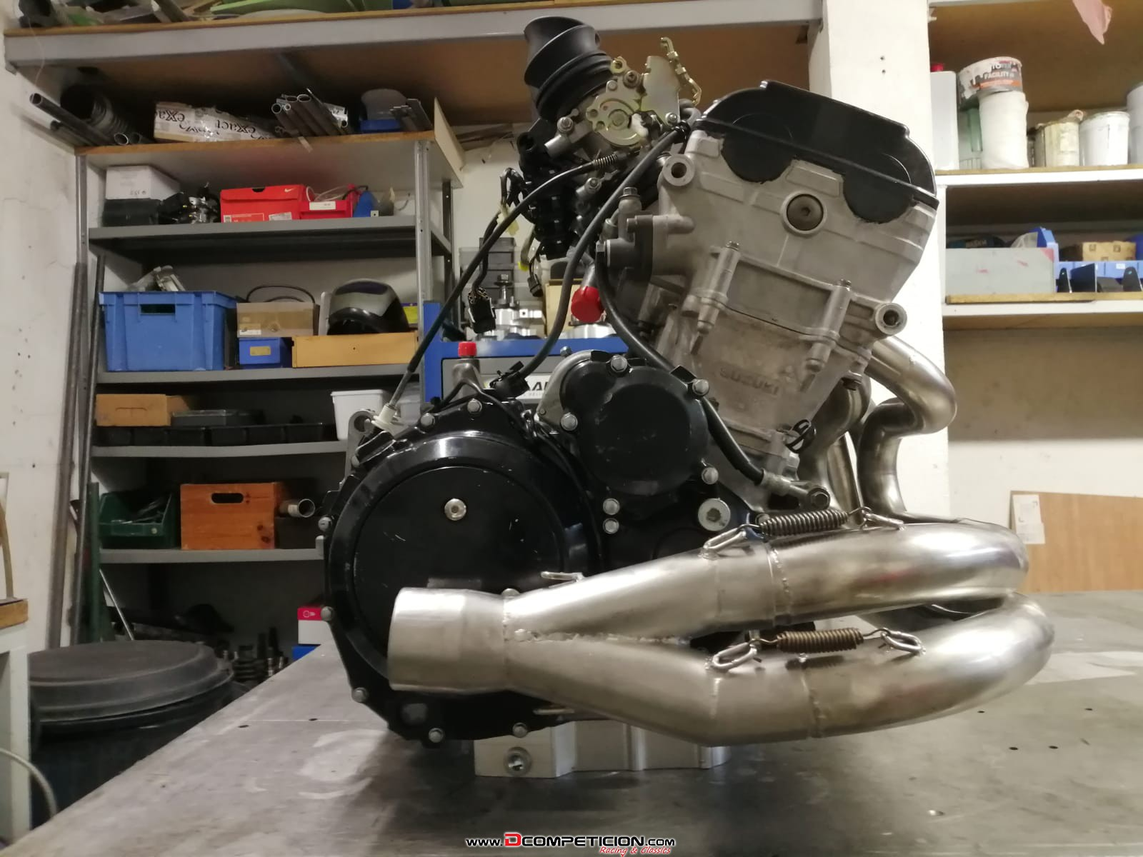 Foto1 Motor Hayabusa Completo