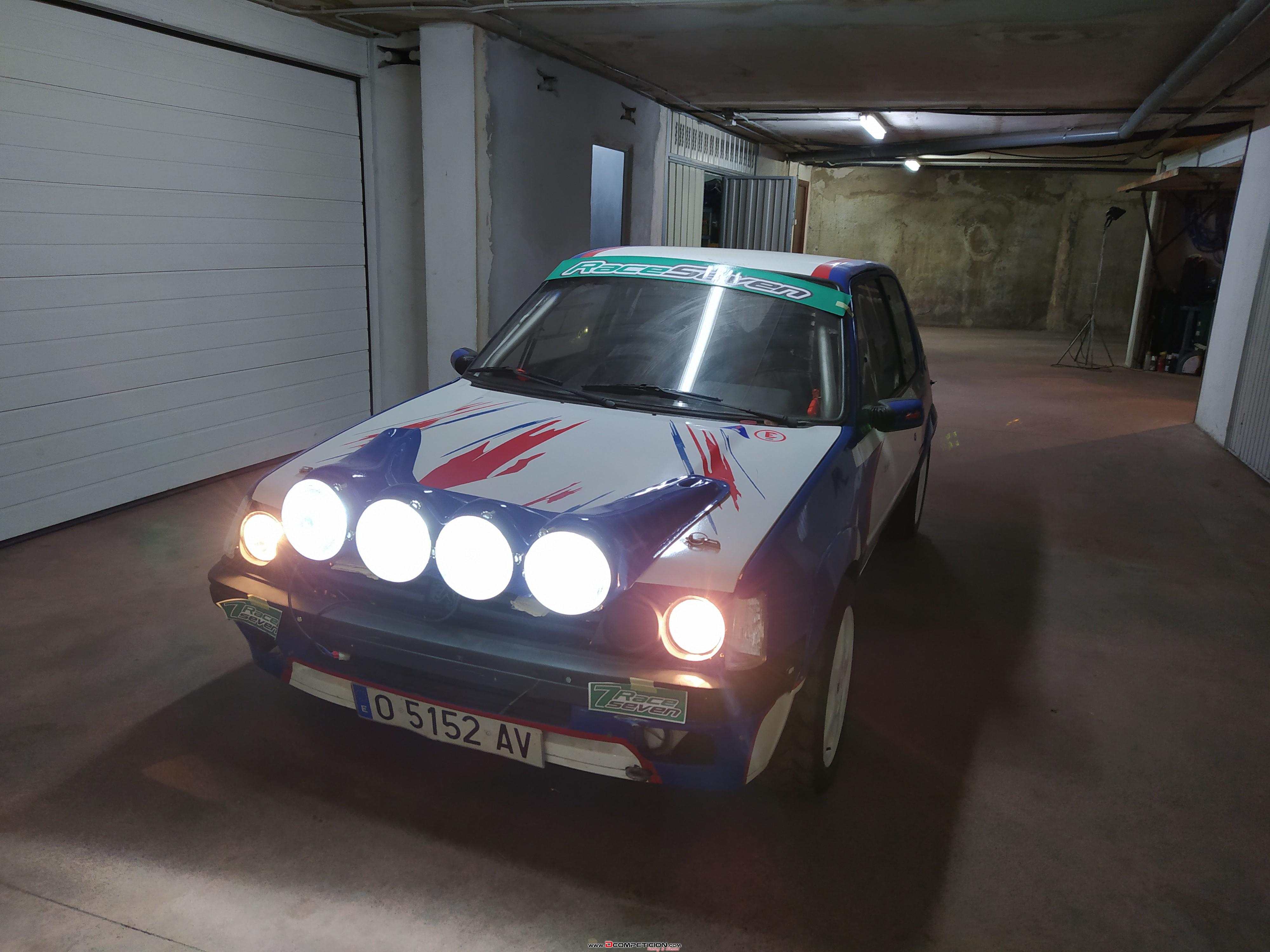 Foto3 Peugeot 205 rallye competicion