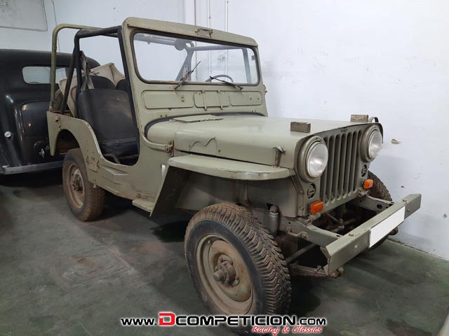 Foto1 JEEP WILLYS M38 - AÑO 1951
