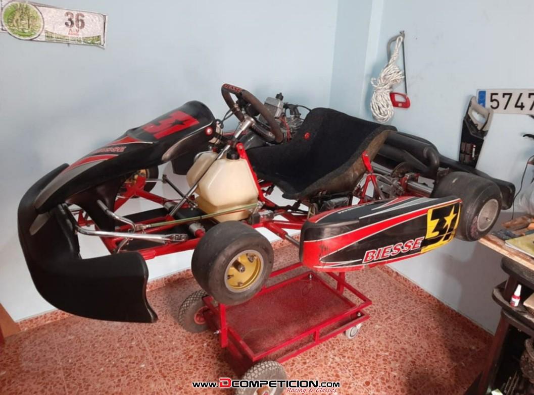 Foto1 Kart Biesse con motor Rotax 125cc