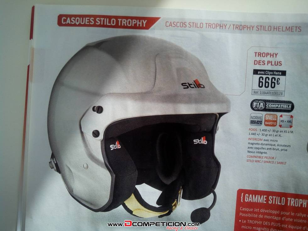 Casco STILO TROPHY DES PLUS