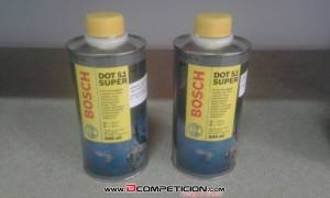Bote de liquido de frenos Dot 5.1 500ml BOSCH