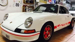 PORSCHE 911 RS 2.7 ( RECREACION)