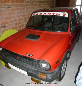 Se vende Autobianchi Abarth 70HP original del 1984