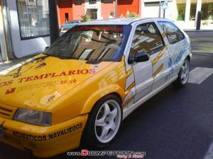 Se alquila citroën zx kit car estrecho