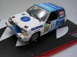 Coches Rally en miniatura 1/43