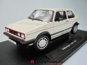 Miniatura 1/18 Volkswagen VW Golf GTI MKI Welly