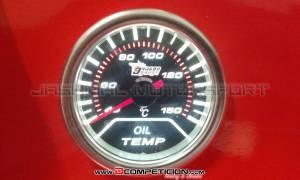 Reloj 52mm Retroiluminado Temperatura del Aceite
