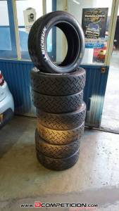 Slicks nuevos michelin sa30 18/58/15