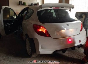 Peugeot 207 GTI RC 1600 THP 220hp with S2000 evo 2 kit