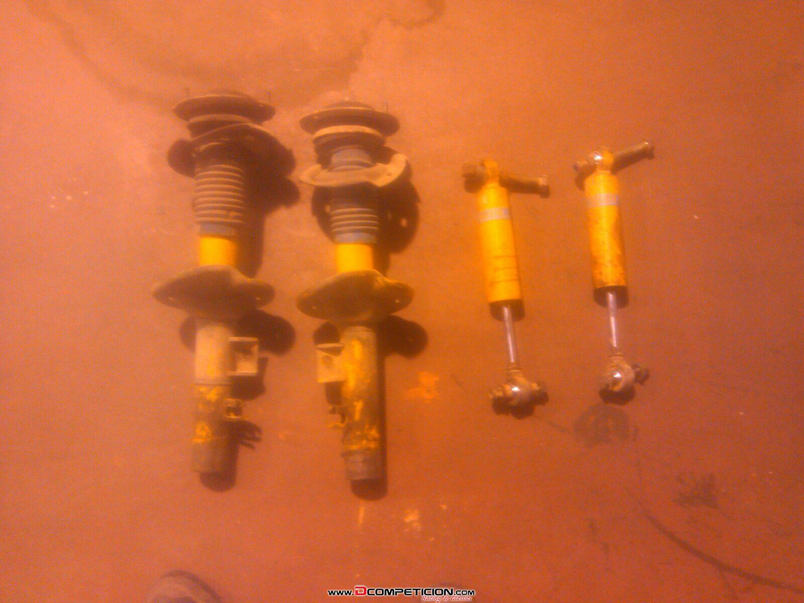 Kit suspensión peugeot