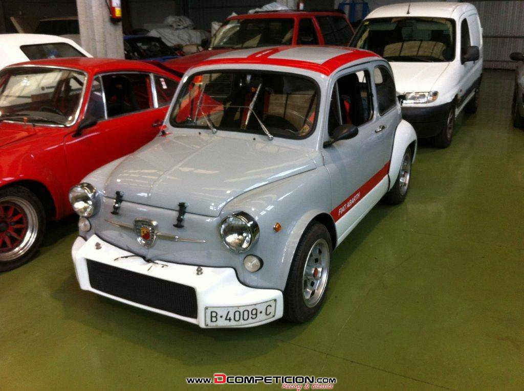 FIAT ABARTH 1000 TCR REPLICA