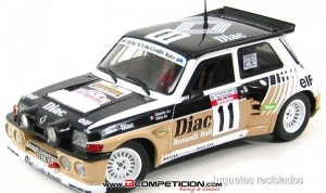 1/18 Renault 5 Maxi turbo Chatriot SOLIDO