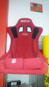backet sparco evo