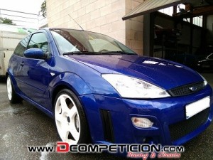 Despiece Ford Focus RS mk I