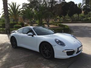 Alquiler Porsche Carrera 911