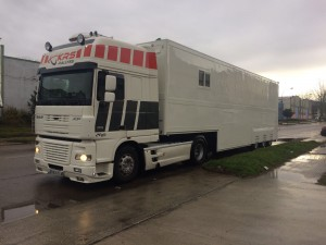 Trailer asistencias Daf XP95 480