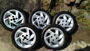 llantas ford rs turbo