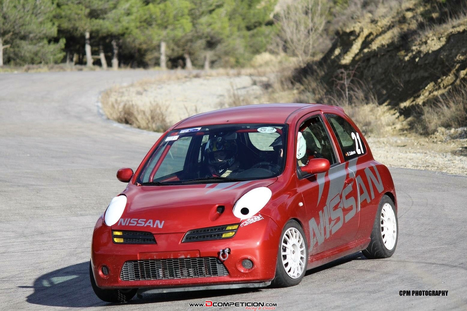 Nissan micra cup sr160