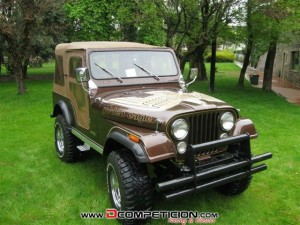 1980  Jeep CJ-5 GOLDEN EAGLE 5000 V8  152000  km