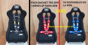 pack backet mas arnes