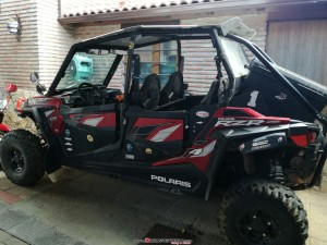Polaris rzr eps 900 4 plazas
