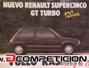 Renault Supercinco GT Turbo