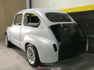 Carroceria replica 600 Abarth