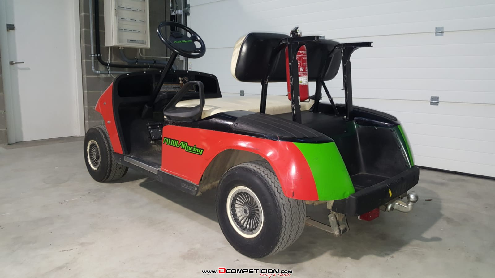 buggy carro golf gasolina