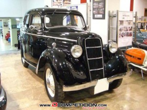 FORD C SALOON 10 HP - AÑO 1937