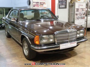 MERCEDES BENZ 230 CE W123 COUPE - AÑO 1980