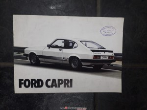 catalogo Ford Capri