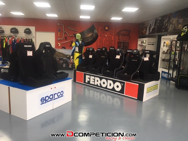 ASIENTO SPARCO R333